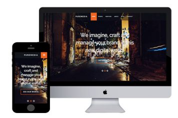 Puremedia – Responsive Html5 Template