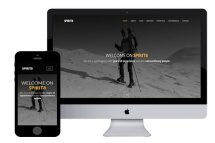 spirit8 free bootstrap html5 template