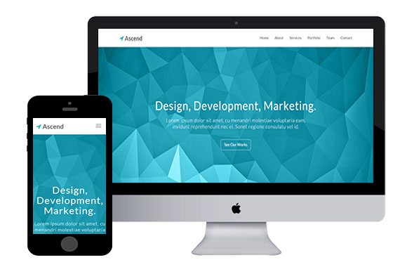 ascend free bootstrap html5 templates