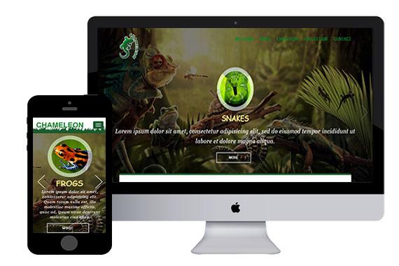 chameleon free html5 bootstrap themes