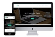one free bootstrap html5 templates