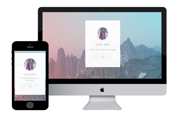 identity free responsive html5 templates