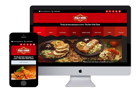html5 restaurant template - Engne.euforic.co