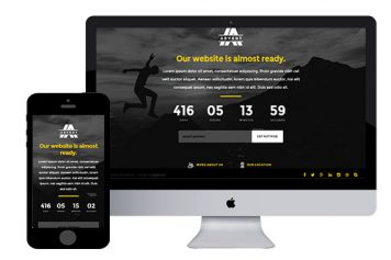 Advent – Free Responsive Html5 Template