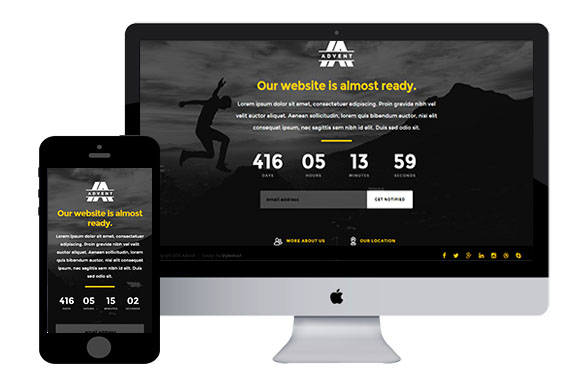 Advent Free Responsive Html5 Templates