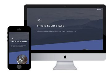 SolidState – Free Responsive Html5 Template