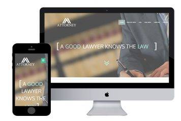 Attorney – Responsive Html5 Template
