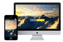 Clementine Free Bootstrap Template