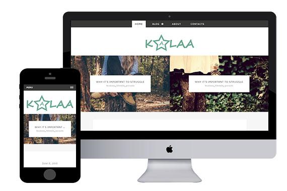 kalaa free responsive html5 template