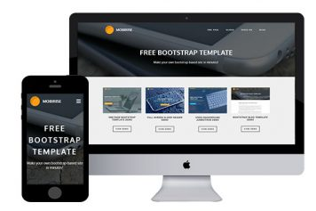 Mobirise – Responsive Html5 Template