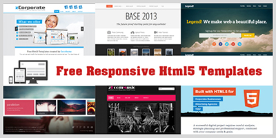 html5xcss3 free responsive html5 and css3 templates