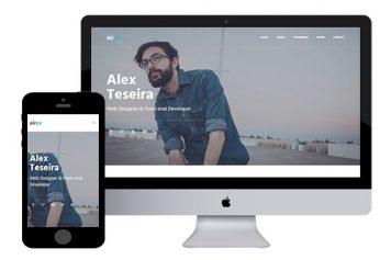 AirCV – Free Bootstrap Template